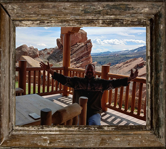 Getting ready to have some Grub and a Cold Colorado Brew while at Red Rocks in Morrison Colorado. AMAZING place to see a live show. If you've never done it...DO IT ! Living only 20 minutes away from this spot, makes hiking and music loving at Red Rocks easy and OFTEN !